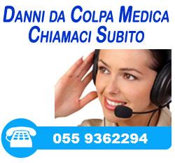 Chiamaci in caso di danno da errore medico