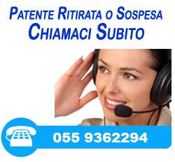 Patente ritirata o sospesa chiamaci subito