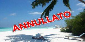 vacanza annullata per coronavirus